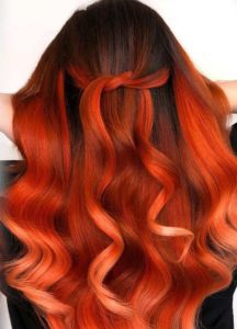 Hottest Fire Red Hair Colors for Long Hairstyles in 2019