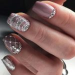 Light Purple Nail Polish Designs for Medium Nails in 2021