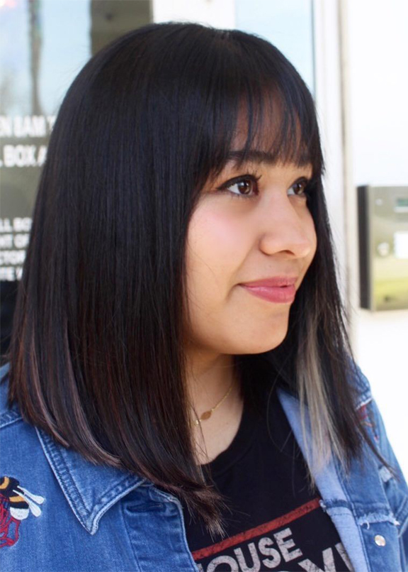 Stunning Medium Haircuts with Bangs for 2019