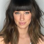 Medium Hairstyles with Blunt Bangs for 2021