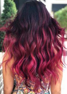 Mermaid Ombre Hair Colors for Long Hair in 2021