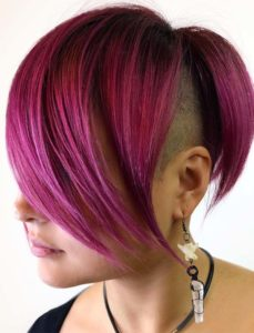 Obsessed Undercut Red Short Haircuts for 2019