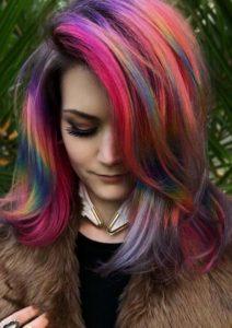 Pulp Riot Hair Color Shades for Medium Length Haircuts