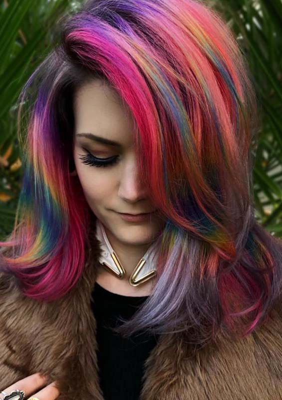 Cute Pulp Riot Hair Color Shades for Medium Length Haircuts in 2019