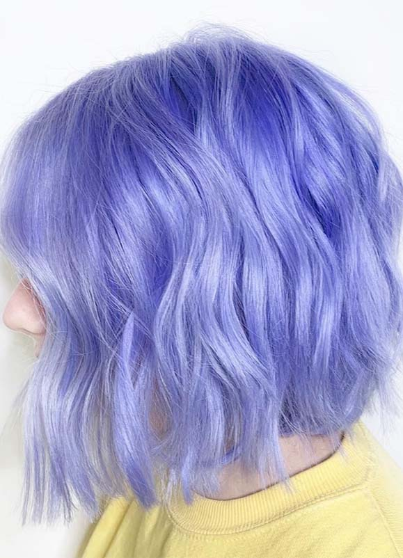 Fantastic Purple Bob Haircuts for Women in 2021