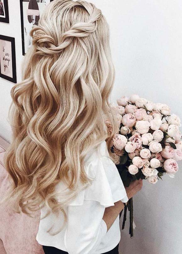 Trendiest Blonde Hair Colors for Wedding Occasion in 2019