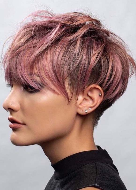 Trendiest Pixie Haircuts and Styles for Women in 2019