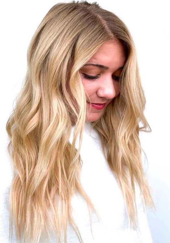 Best Blonde Balayage Hair Colors for Long Hair in 2019