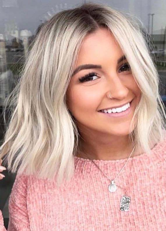 Fantastic Blonde Shades for Blunt Bob Cuts in 2021
