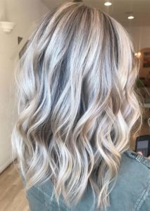 Bright Blonde Hair Colors with Dark Dimensions in 2019
