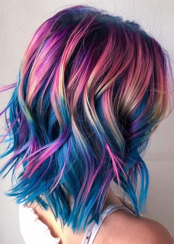 Brilliant Pulp Riot Hair Colors for Medium Hair in 2019