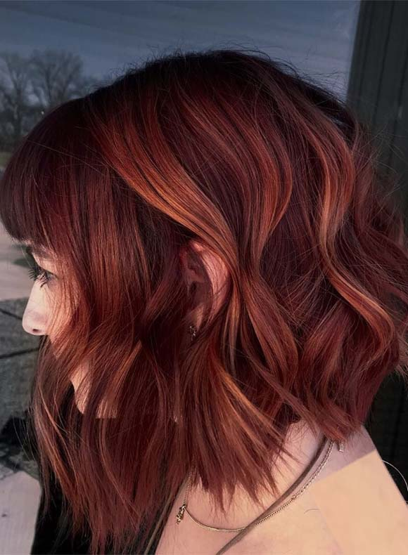 Brilliant Red Hair Colors for Bold Women to Wear in 2019