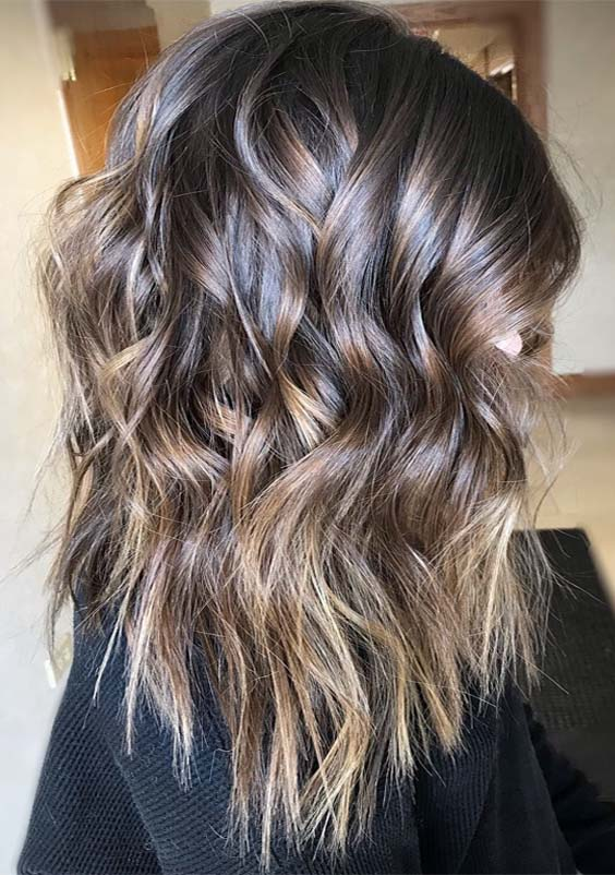 Fantastic Brunette Balayage Hair Color Shades for 2019