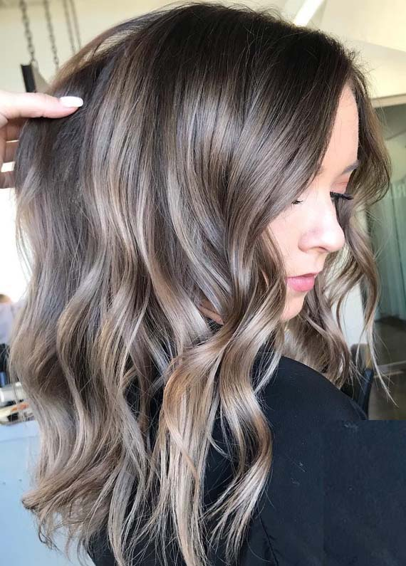 Charming Brunette Balayage Hair Color Shades for 2019
