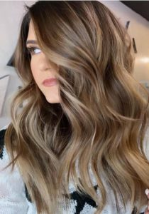 Chocolate Brown Balayage Hair Colors in 2019