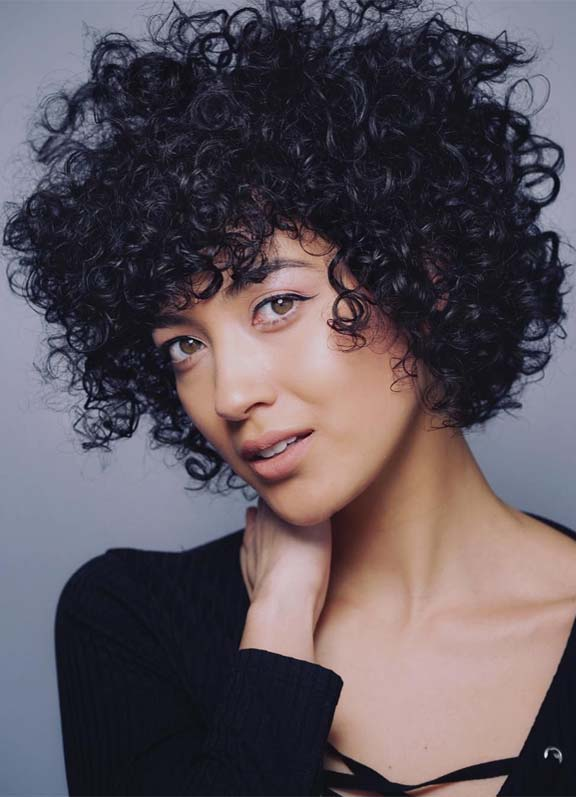 Best Curly Hairstyles for Short Hair to Flaunt in Year 2019