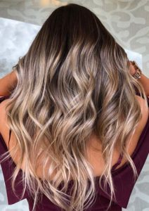 Dark to Light Ombre Hair Color Shades in 2021
