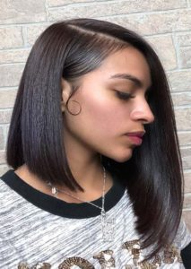 Dramatic A-Line Bob Haircuts for Black Women 2019