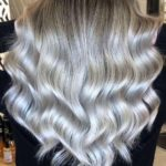 Fabulous Silver Balayage Hair Color Trends in 2019