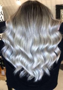 Fabulous Silver Balayage Hair Color Trends in 2021