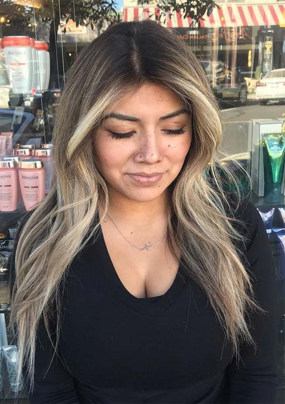 Updated Face Framing Balayage Hairstyles Trends for 2019