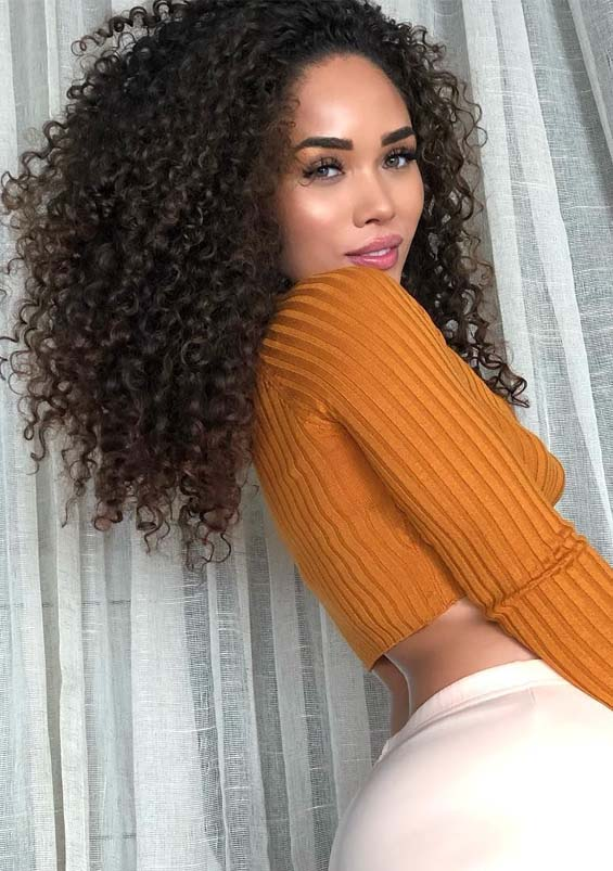 Fantastic Curly Hairstyles Ideas to Create in 2019