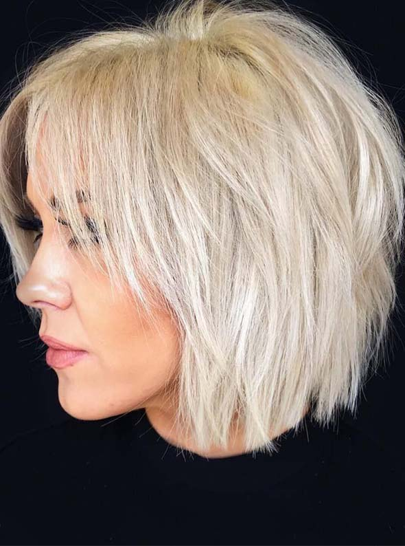 Fantastic Short Blonde Haircut Styles for Bold Women 2019