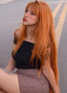 Fashionable Redhead Long Hair Looks in 2019