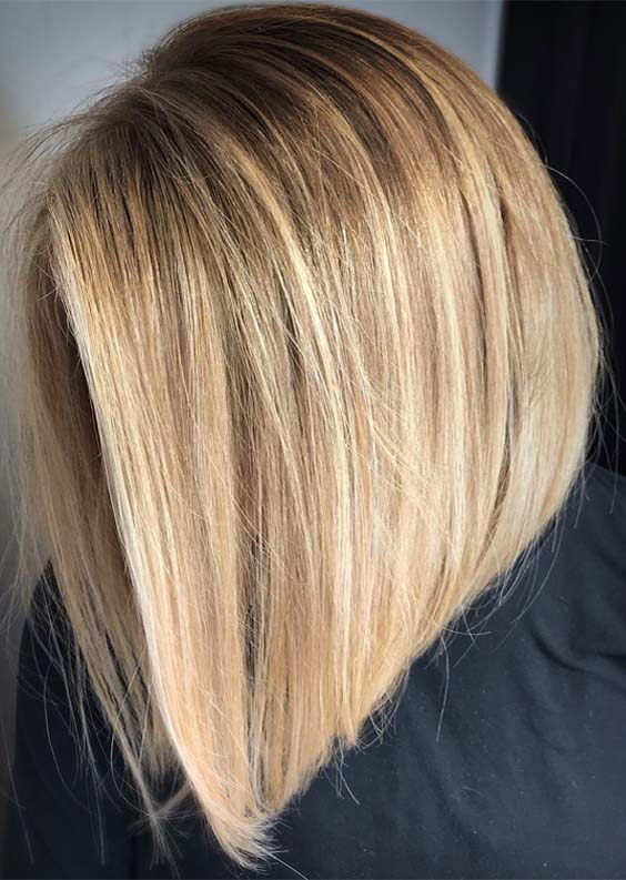 Fresh Balayage Colored Lob Styles for Every Woman in 2021