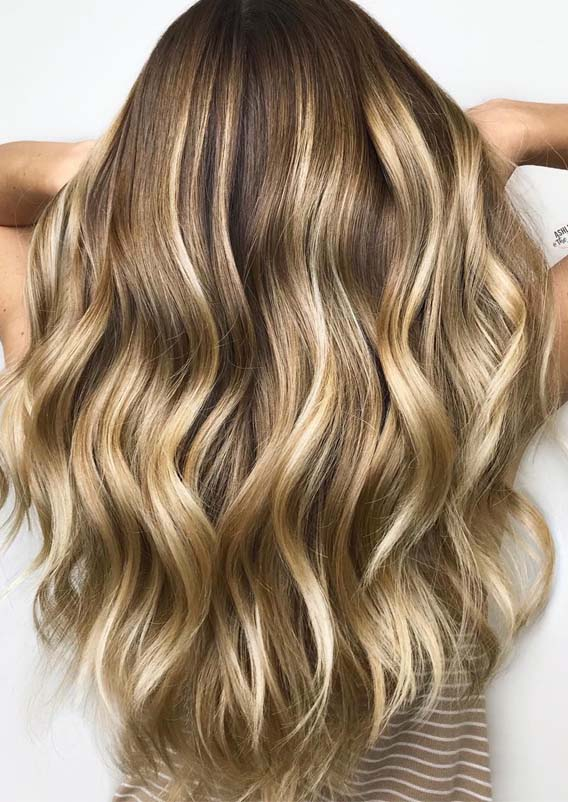 Gorgeous Golden Blonde Hair Colors & Hairstyles for 2019
