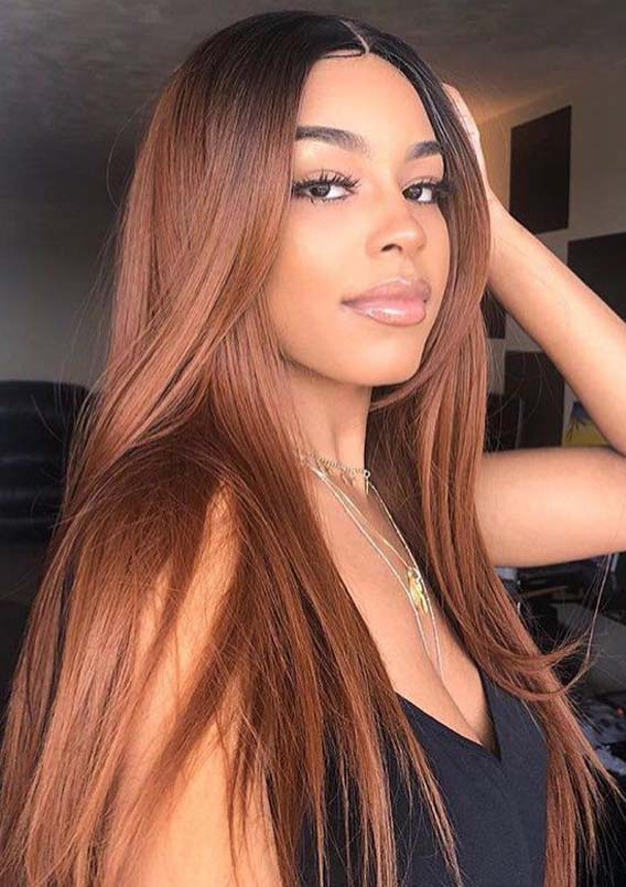 Awesome Honey Brown Hair Color Shades for Long Hair in 2021
