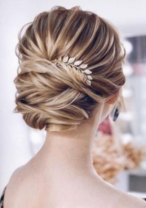 Gorgeous Bridal Updos for Long Hair 2019