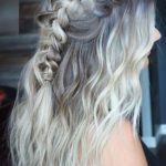 Half Up Braids for Long Culry Hairstyles for 2021