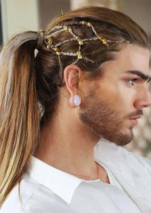 Handsome Ponytail Hairstyles for Men 2019