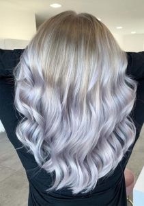 Icy Balayaged Blonde Hair Styles for 2019