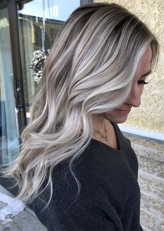 Impressive Ice Blonde Hair Color Ideas & Shades in 2019