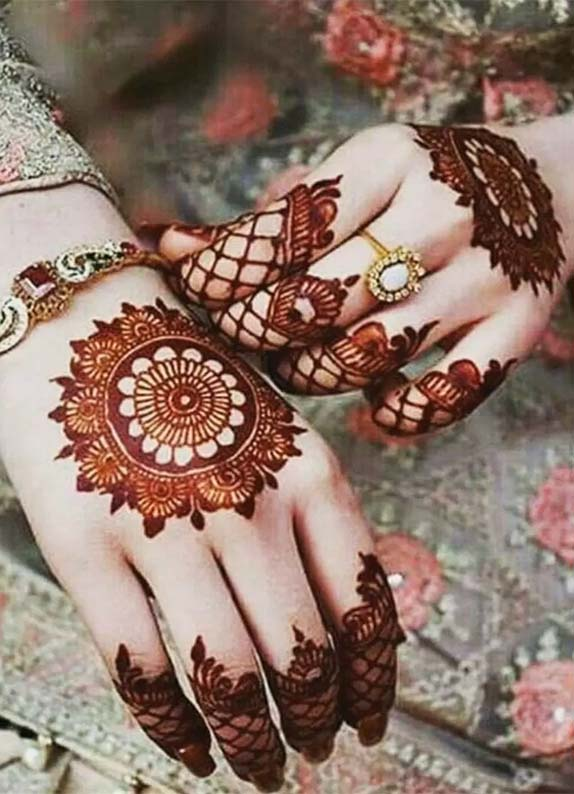 Most Beautiful Mehndi Designs For Cute Hands in 2021