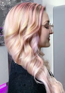 Pastel Pink Hair Color Ideas in 2019