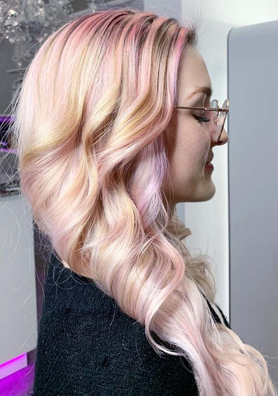Fabulous Pastel Pink Hair Color Shades You Must See in 2019