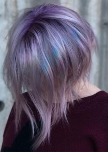 Pastel Shades Of Hair Colors in 2019