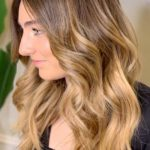 Perfectly Soft & Blended Bronde Balayage Hair Color Ideas in 2021