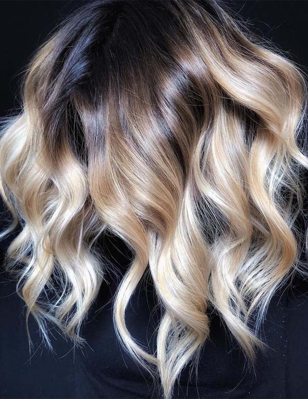 Awesome Balayage Ombre Hair Coloring Ideas for 2019