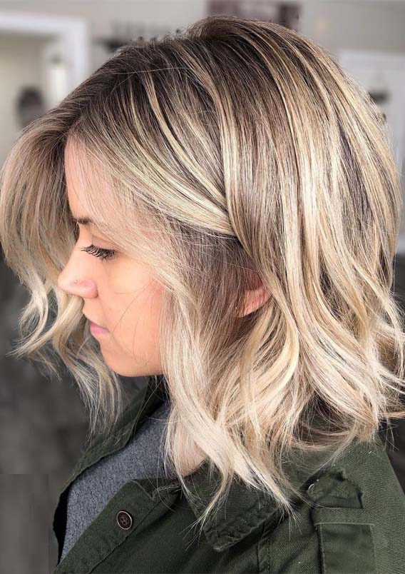 Fresh Balayage Blonde Hair Colors Highlights to Try in 2021