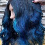 Blue hair color ideas & shades for 2019