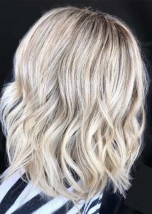 Bright blonde hair shades & colors in 2021