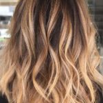 Casual Caramel Hair Color Melts for 2019