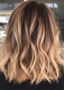 Casual Caramel Hair Color Melts for 2021