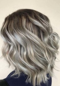 Cool ash blonde hair & hairstyles for 2021