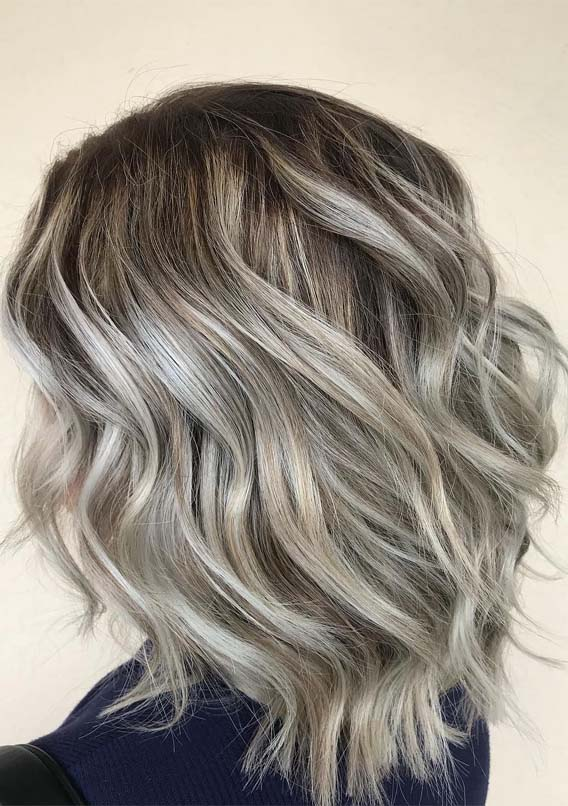 Cool Ash Blonde Hair with Unique Shades You'll Love in 2019