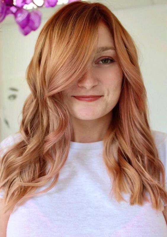 Amazing Copper Balayage Hair Color Ideas You Must Try in 2019
